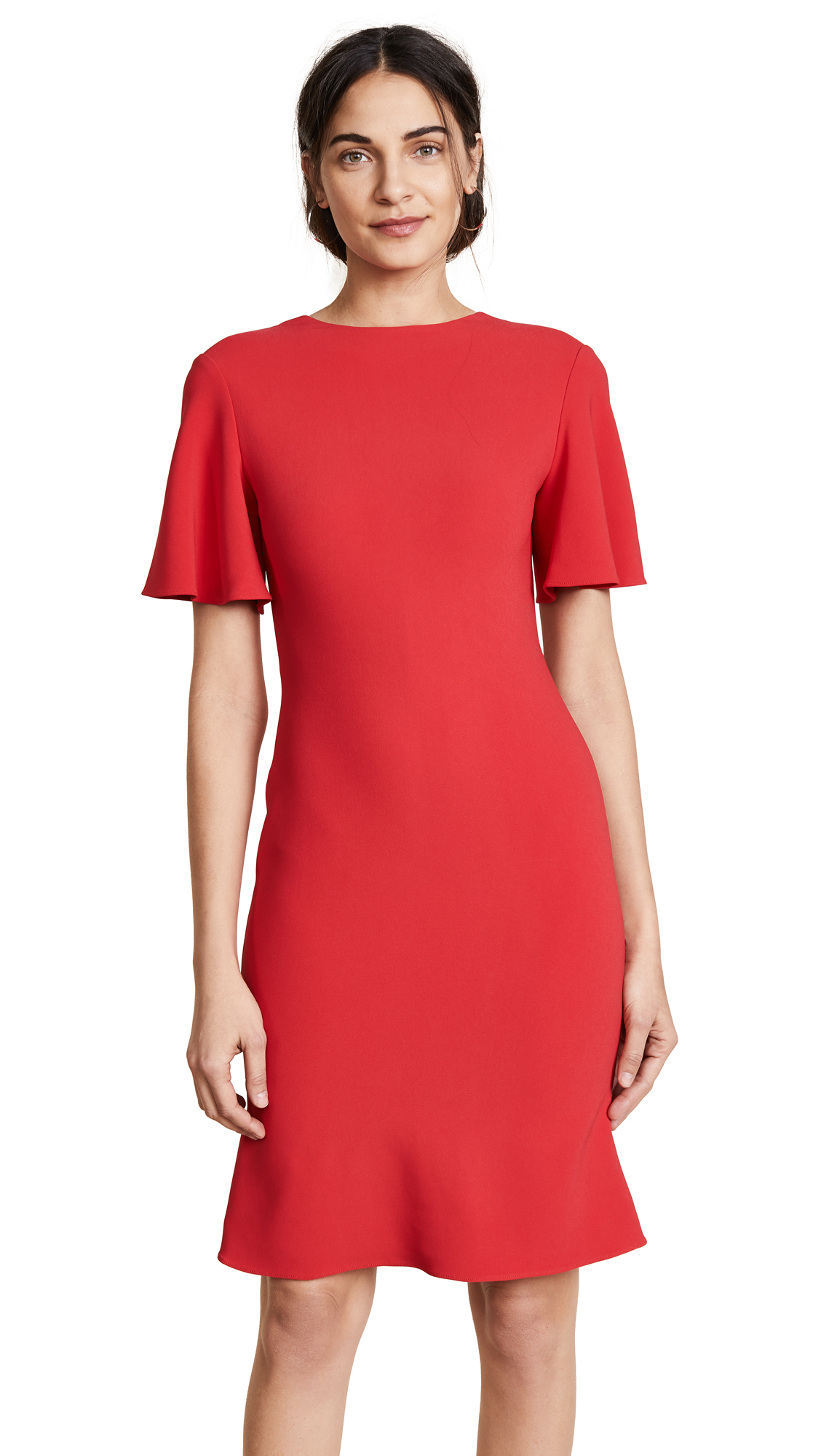 Brandon Maxwell Bias Dress - Red