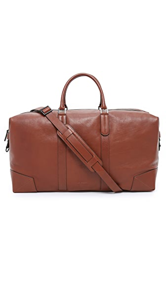 Uri Minkoff Pebbled Leather Wythe Weekender