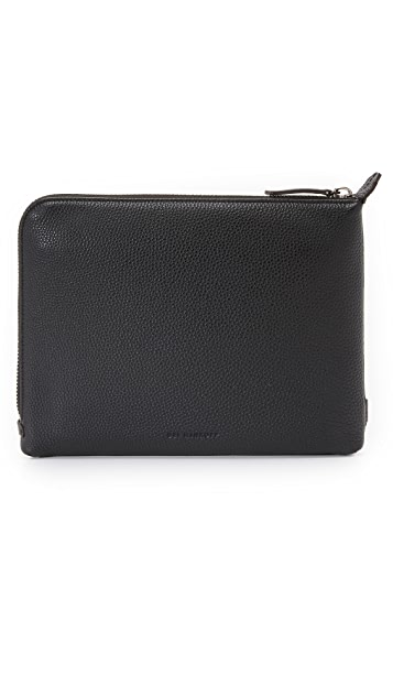 Uri Minkoff Pebbled Leather Warren Pouch