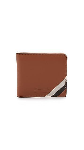 Uri Minkoff Vachetta Leather Vesper Wallet