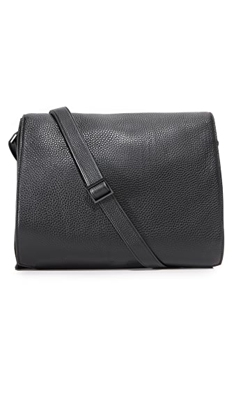 Uri Minkoff Derrick Pebbled Leather Messenger