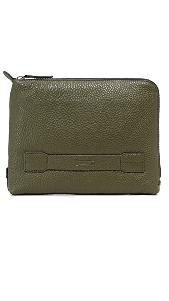Uri Minkoff Warren Pebbled Leather Pouch