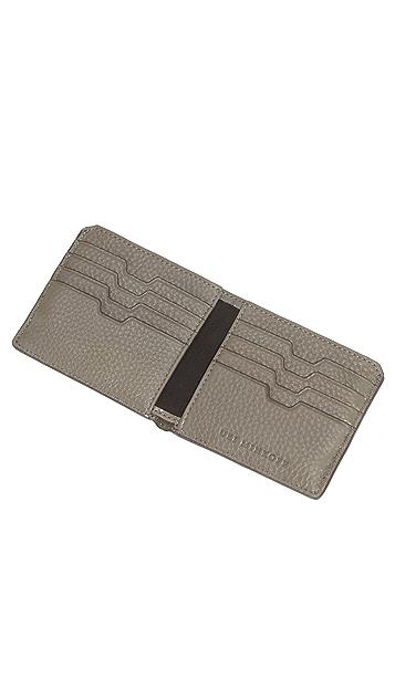 Uri Minkoff Vesper Pebbled Leather Wallet