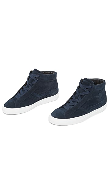 Uri Minkoff Carlisle Suede High Top Sneakers
