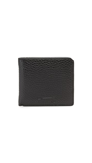 Uri Minkoff Vesper Pebbled Leather Wallet
