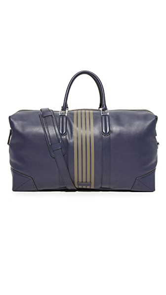 Uri Minkoff Striped Leather Wythe Weekender