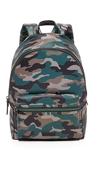 Uri Minkoff Camo Saffiano Leather Paul Backpack - Camo