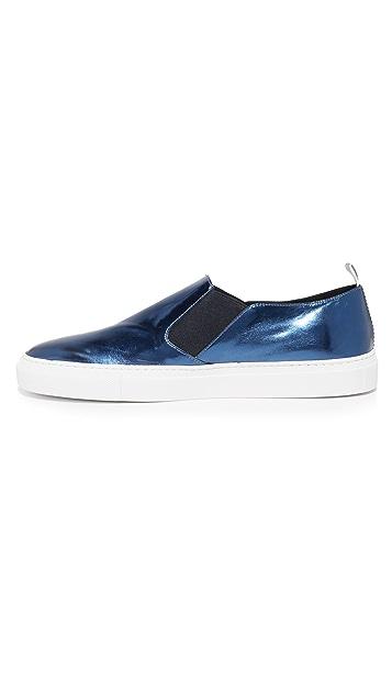 Uri Minkoff Trevi Metallic Slip On Sneakers