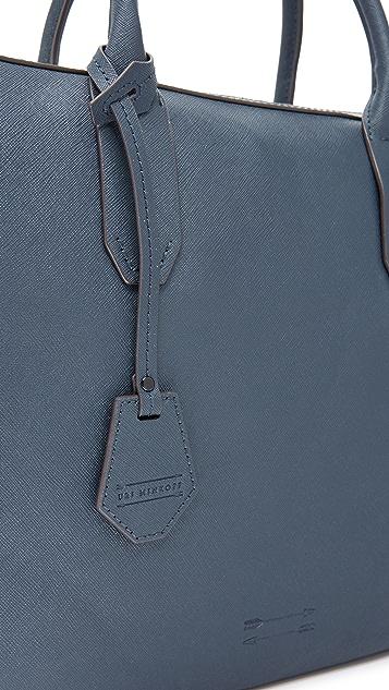 Uri Minkoff Saffiano Leather Fulton Briefcase