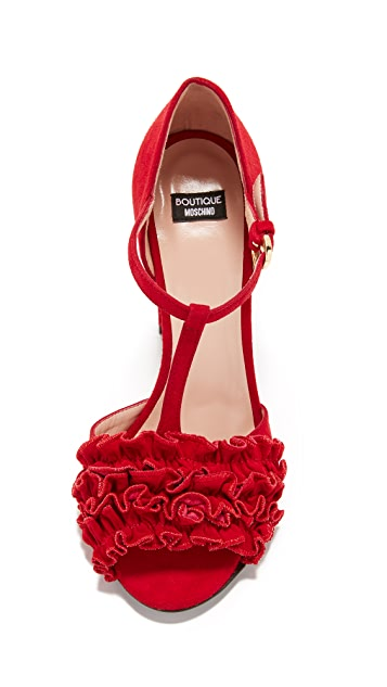 Boutique Moschino Open Toed Heels
