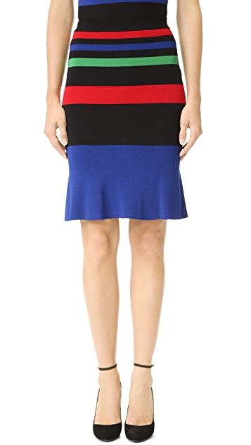 Boutique Moschino Striped Skirt