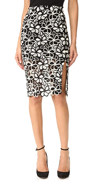Boutique Moschino Floral Skirt