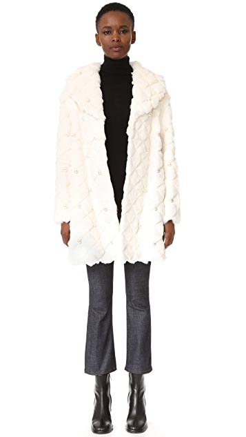 Boutique Moschino Fur Coat