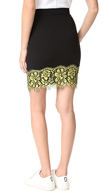 Boutique Moschino Scalloped Skirt
