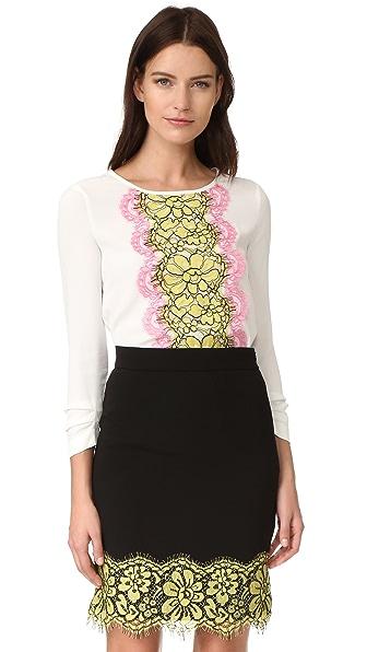 Boutique Moschino Блуза с длинными рукавами