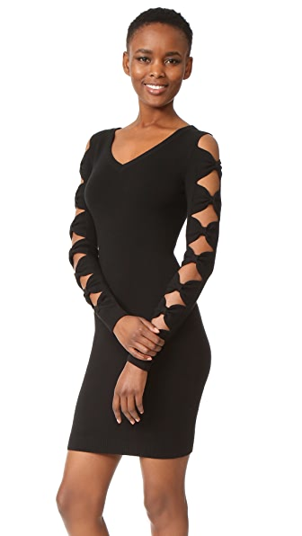Boutique Moschino Long Sleeve Dress - Black