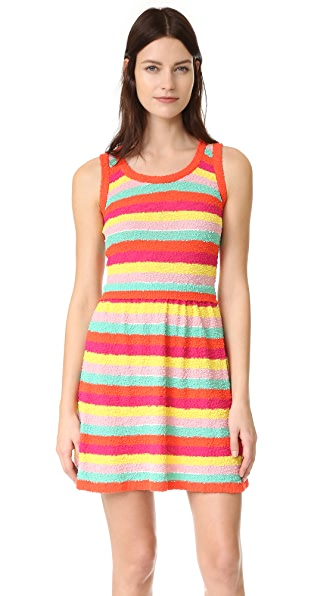 Boutique Moschino Striped Sleeveless Dress