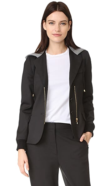 Boutique Moschino Button Down Jacket