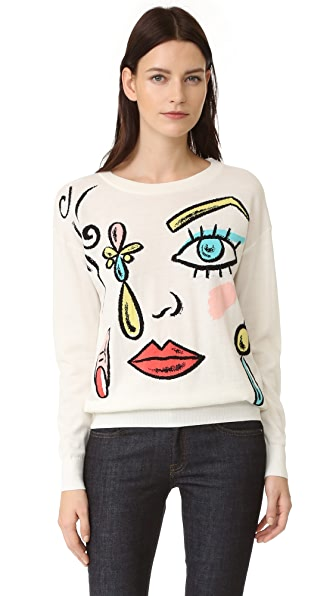 Boutique Moschino Printed Sweater
