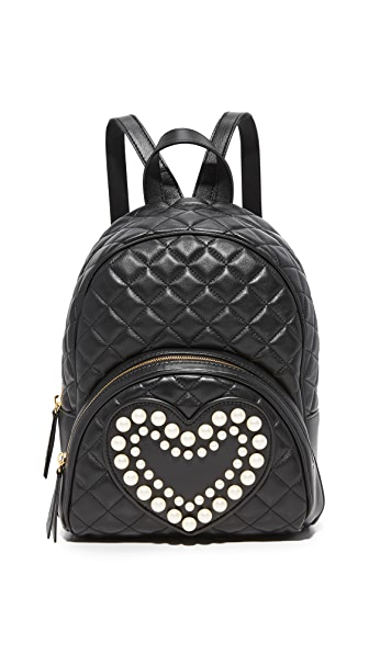 Boutique Moschino Quilted Backpack at Shopbop