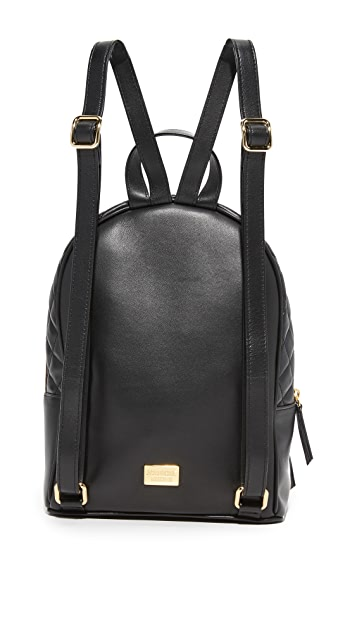 Boutique Moschino Quilted Backpack