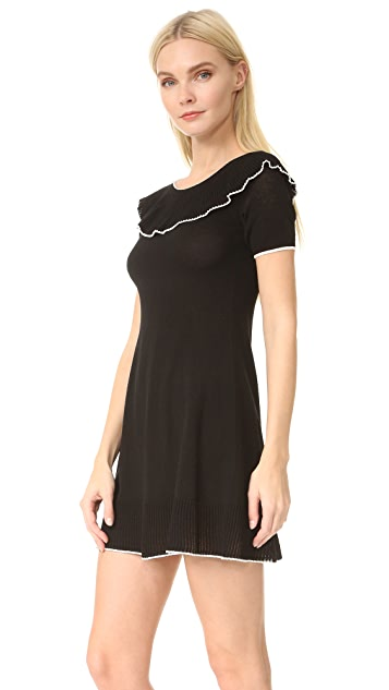 Boutique Moschino Short Sleeve Boat Neck Dress