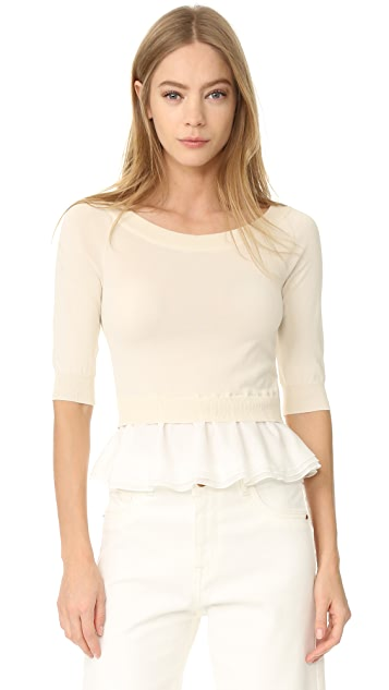 Boutique Moschino Boat Neck Top
