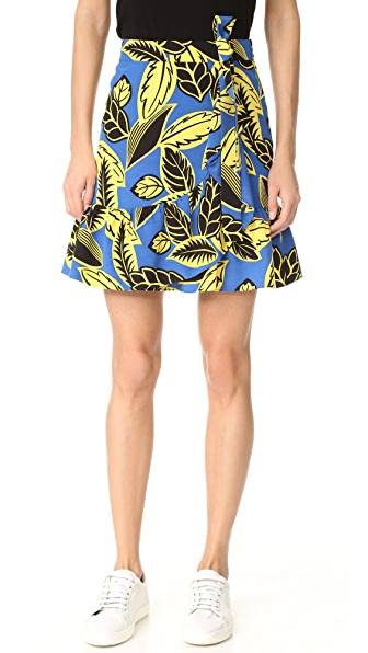 Boutique Moschino Printed Skirt at Shopbop