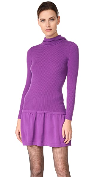 Boutique Moschino Long Sleeve Dress - Purple