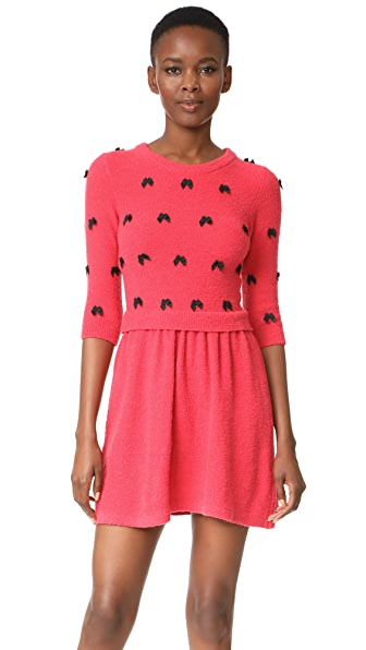 Boutique Moschino 3/4 Sleeve Dress - Pink