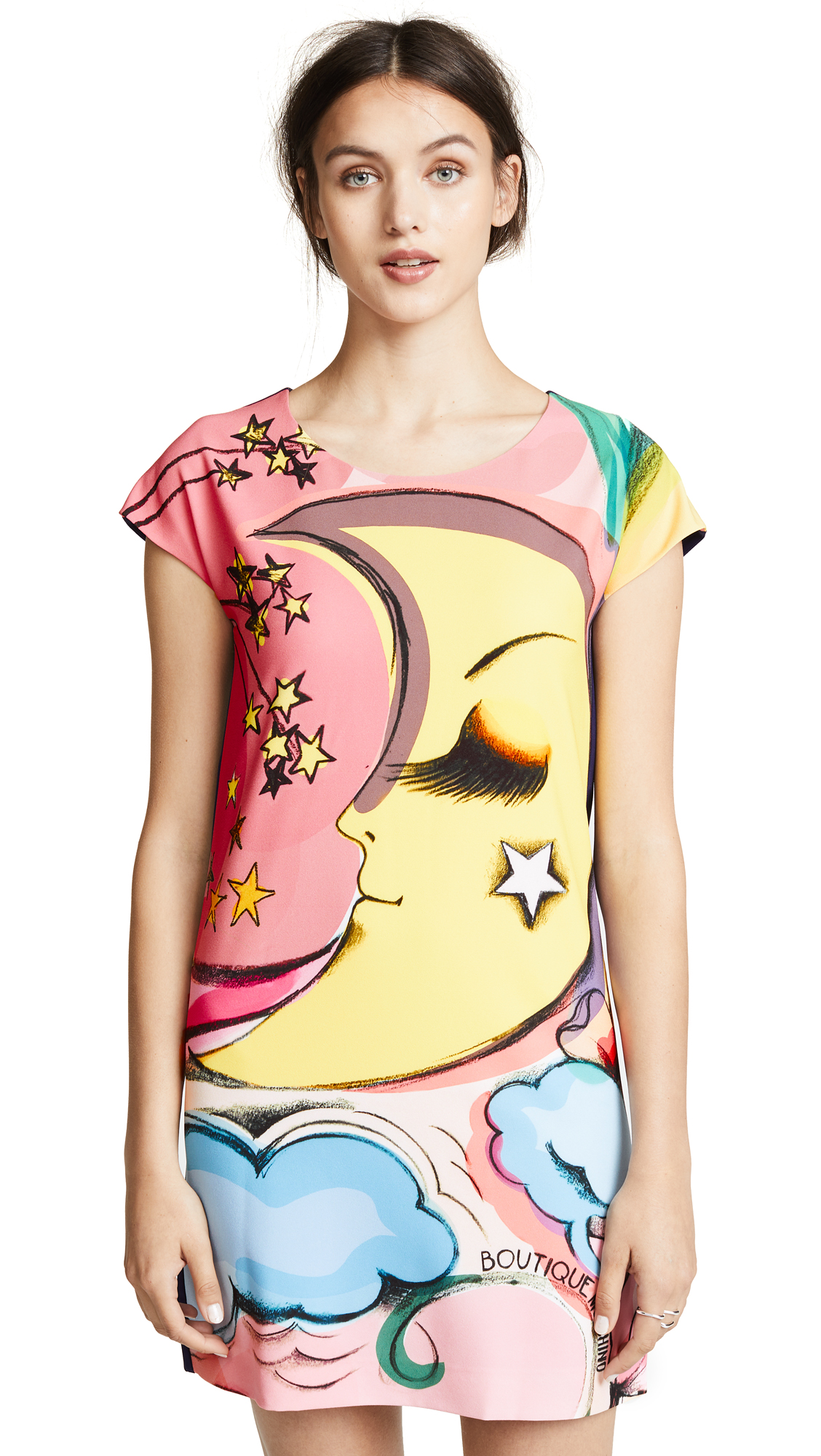 Boutique Moschino Moon Shirt Dress