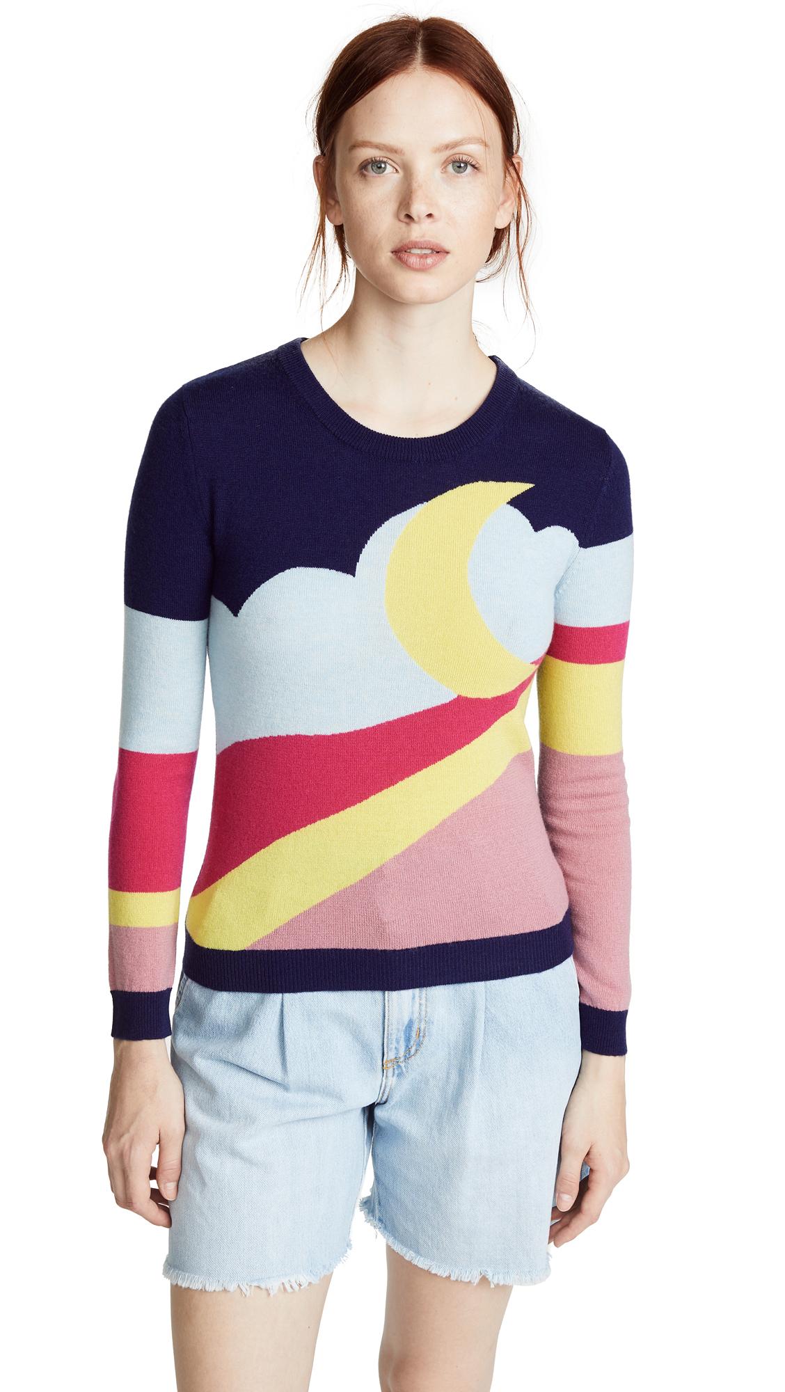 Boutique Moschino Moon Landscape Sweater - Multi