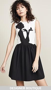 Boutique Moschino Silhouette Mini Dress