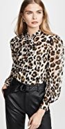 Boutique Moschino Leopard Blouse