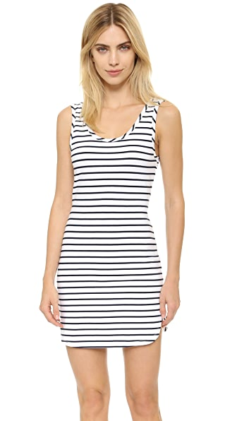 bobi Stripe Dress