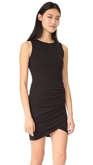 bobi Ruched Dress