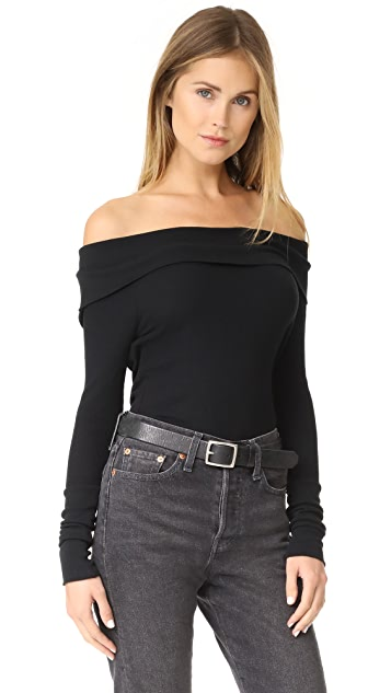 bobi Off Shoulder Tee