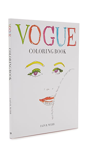 Books with Style Vogue Coloring Book - No Color