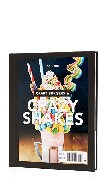 Books with Style Craft Burgers and Crazy Shakes From Black Tap