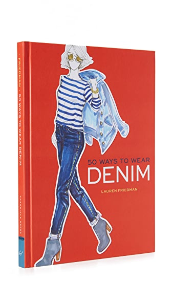 Books with Style 50 Ways to Wear Denim at Shopbop