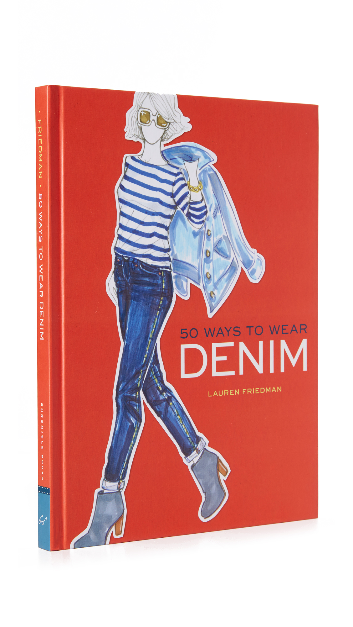 Books With Style 50 Ways To Wear Denim - No Color at Shopbop