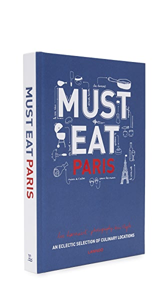 Books with Style Must Eat Paris - No Color