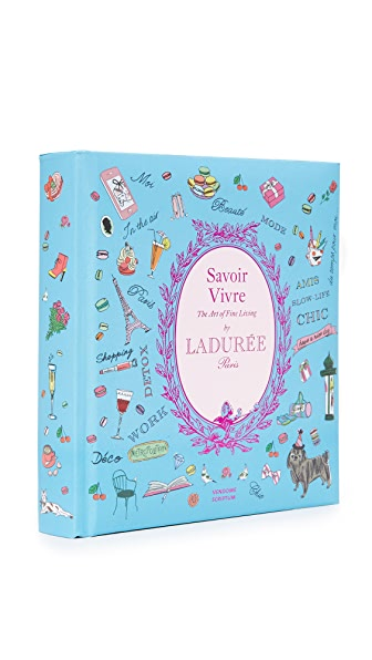 Books with Style Savoir Vivre by Laduree In No Color