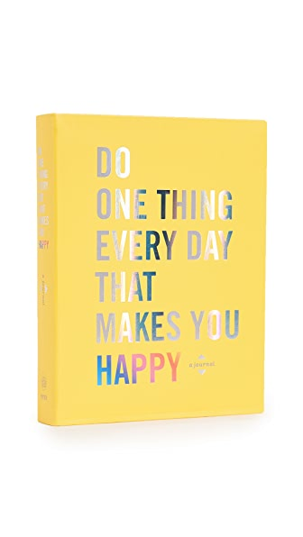 Books with Style Do One Thing Every Day That Makes You Happy In No Color