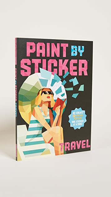 Books with Style Paint By Stickers: Travel