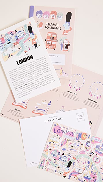 Books with Style CitiXFamily London Travel Guide & Map