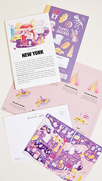Books with Style CitiX Family New York Travel Guide & Map