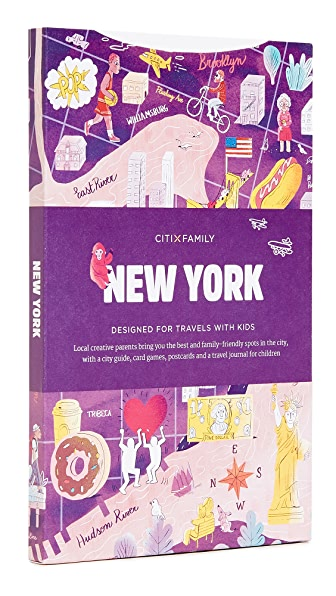 Books with Style CitiX Family New York Travel Guide & Map In Multi