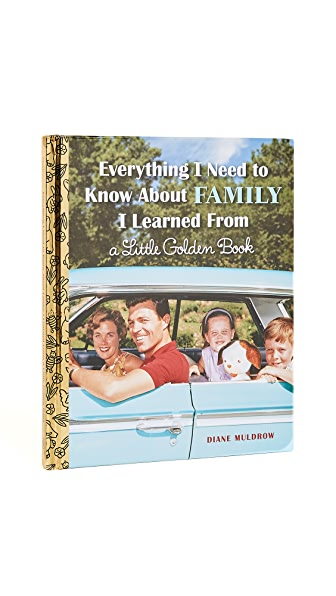 Books with Style Everything I Need to Know About Family I Learned from a Little Golden Book In No Color