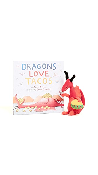 Books with Style Dragons Love Tacos Book & Toy Set